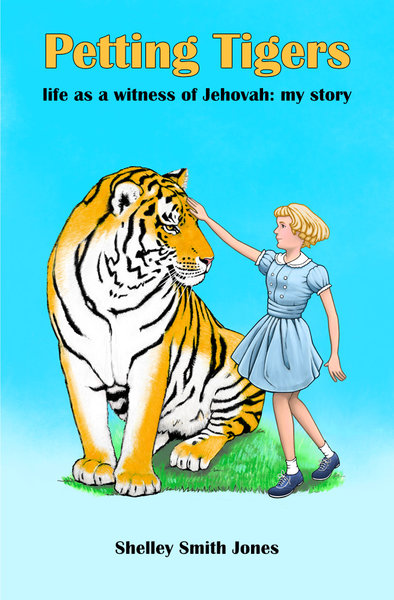 Petting Tigers book cover background option 2 by David Oliver
