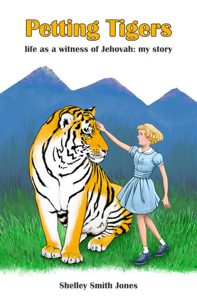 Petting Tigers book cover background option 3 by David Oliver