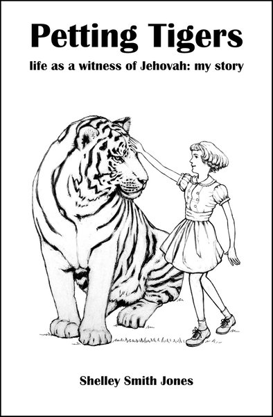 Petting Tigers book cover sketch by David Oliver